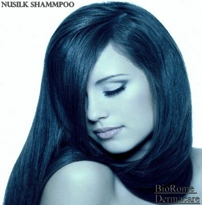 Get Vibrant, healthy looking Hair with BioRome Dermacare Nusilk - fresh genetic blueprint band