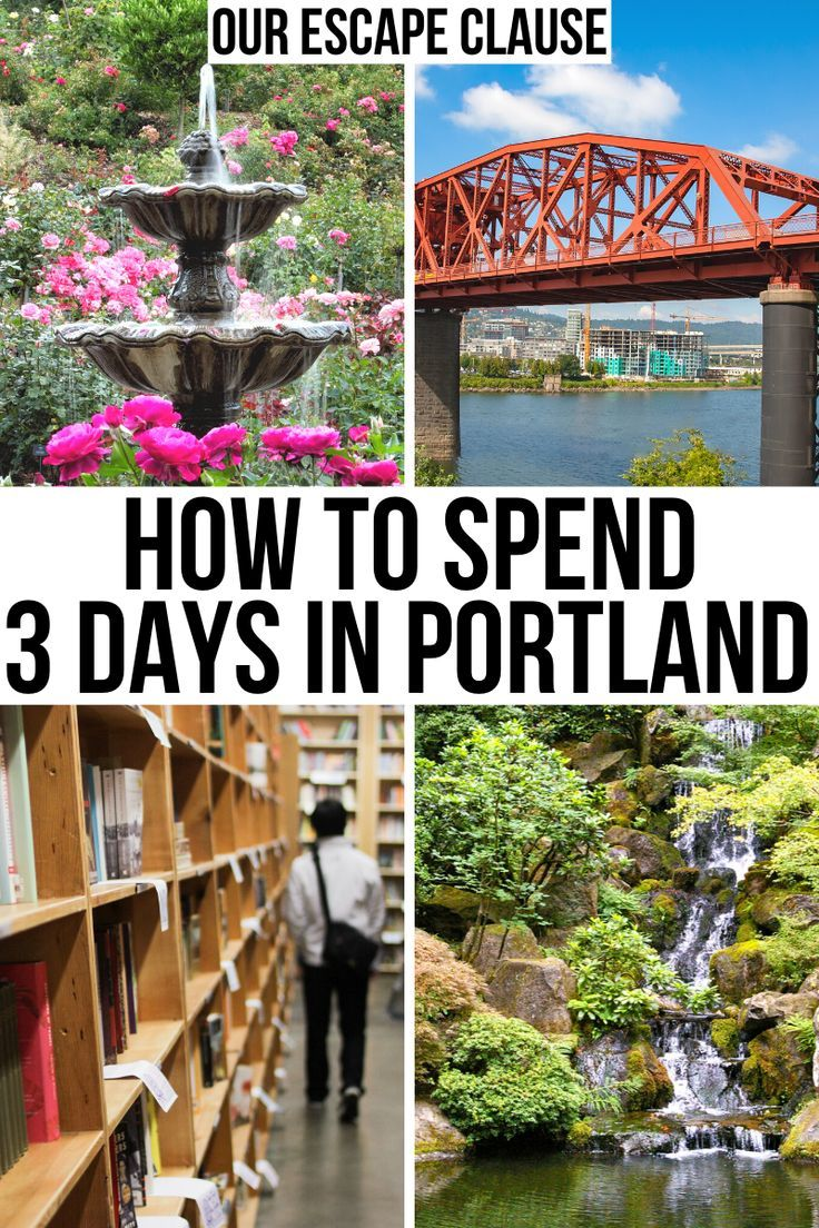 The Ultimate 3 Days in Portland Itinerary
