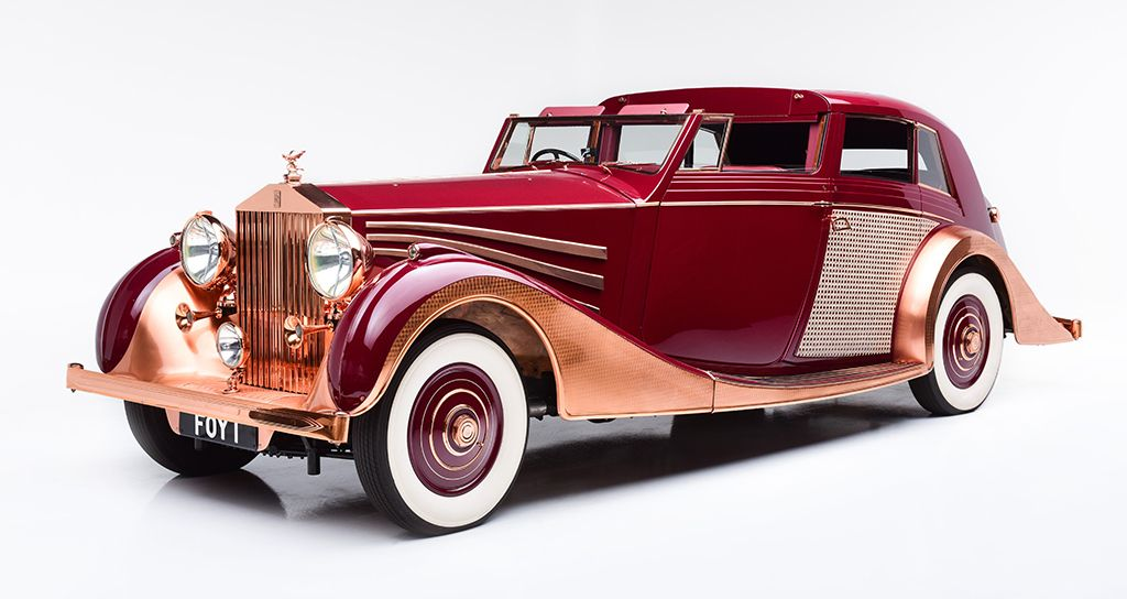1937 Rolls Royce Phantom Iii Sedanca De Ville Freestone Webb Classic Car For Sale Auction - Barrett-Jackson Auction Company - World's Greatest Collector Car Auctions