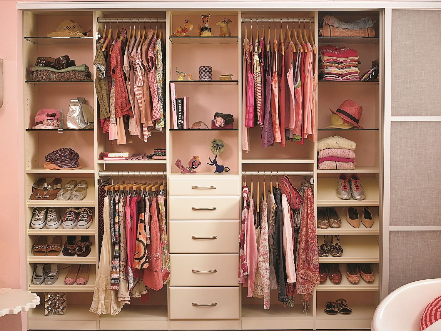 California Closets Design Consultants Are Experts At Solving For Your Family S Current Needs And With Images Small Room Design Cool Beds For Teens Teenage Girl Bedroom Diy