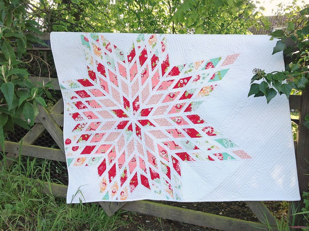 Lone Star   Quilts, Jelly roll quilt patterns, Star ...