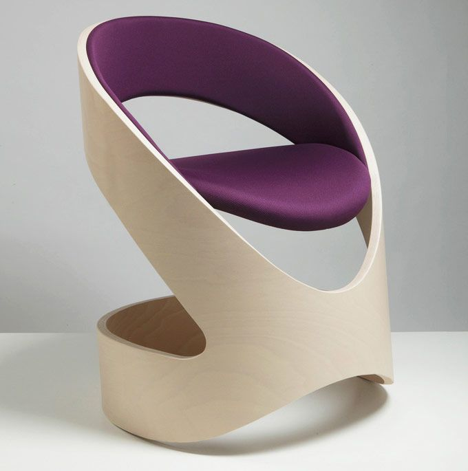 modern chair with natural wood finish | chair board | pinterest