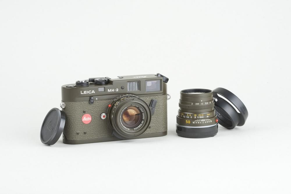 Leica M4-2 Safari Prototype Outfit Nr  1531391, with 35mm Summicron