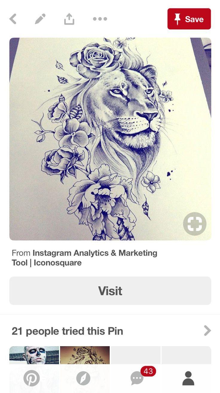 Photo of Lion # lion tatouage couleur