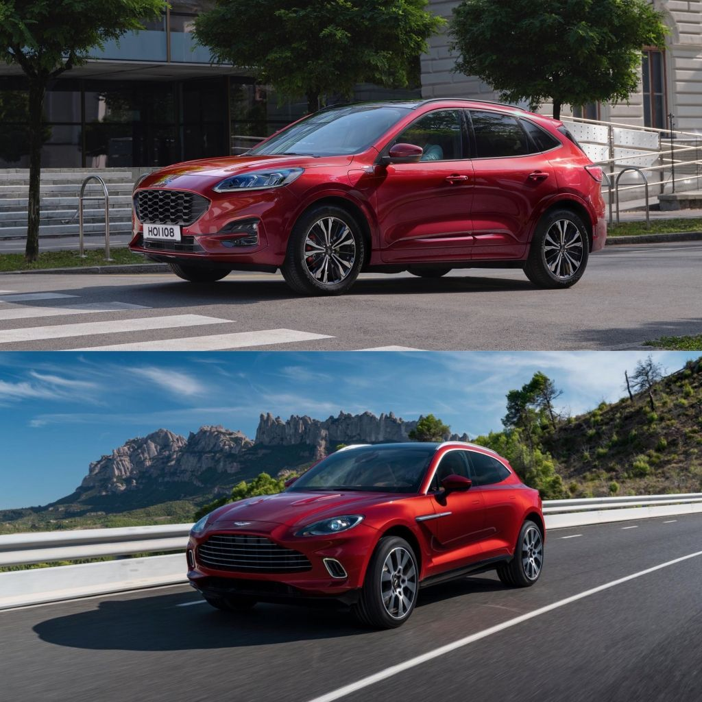 Does The Aston Martin Dbx Look Like The Ford Kuga Cars Life Blog Aston Martin Ford Kuga Aston Martin Cars