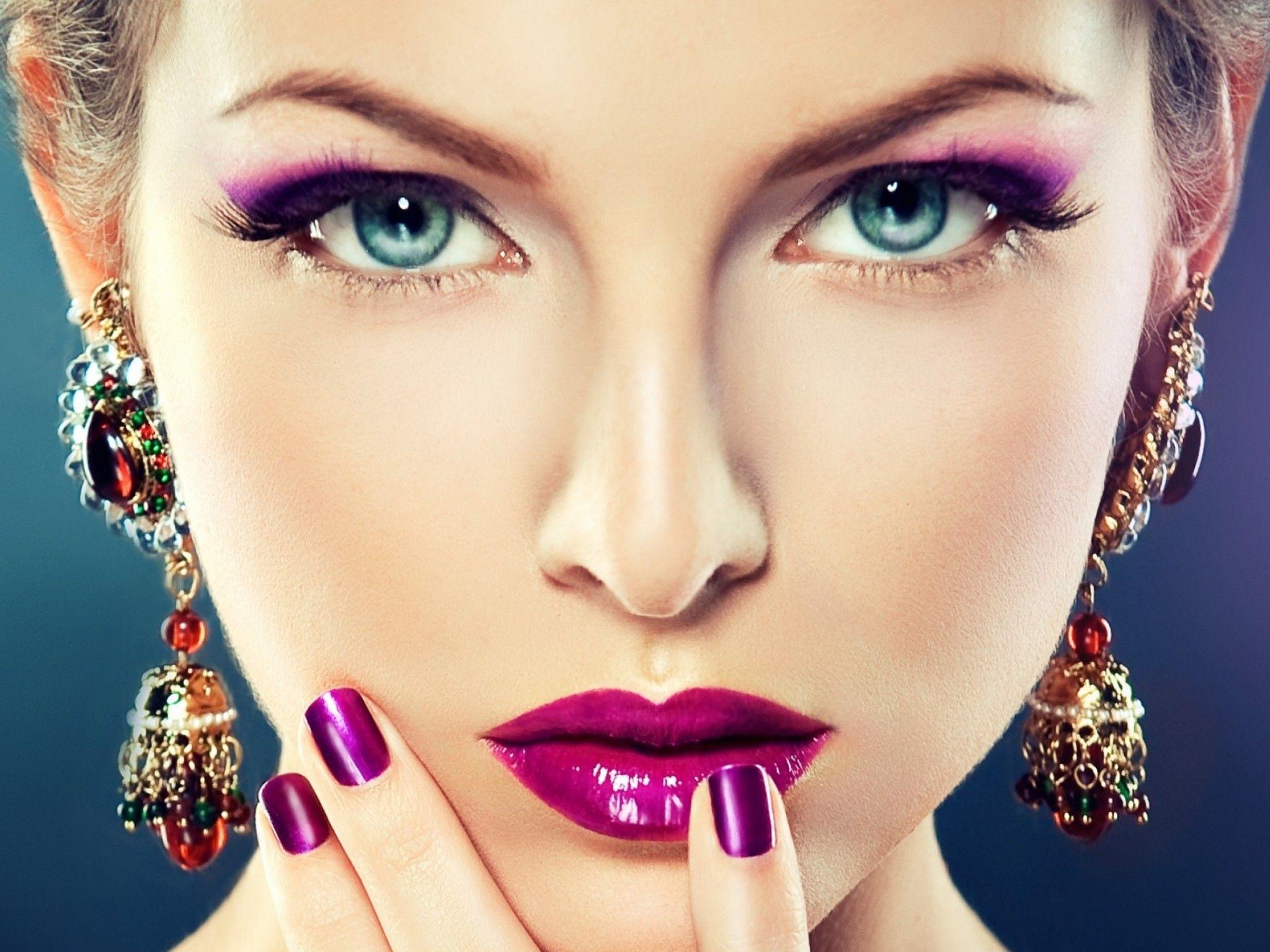 4K Ultra HD Women girl makeup 4K Ultra HD wallpaper 4k