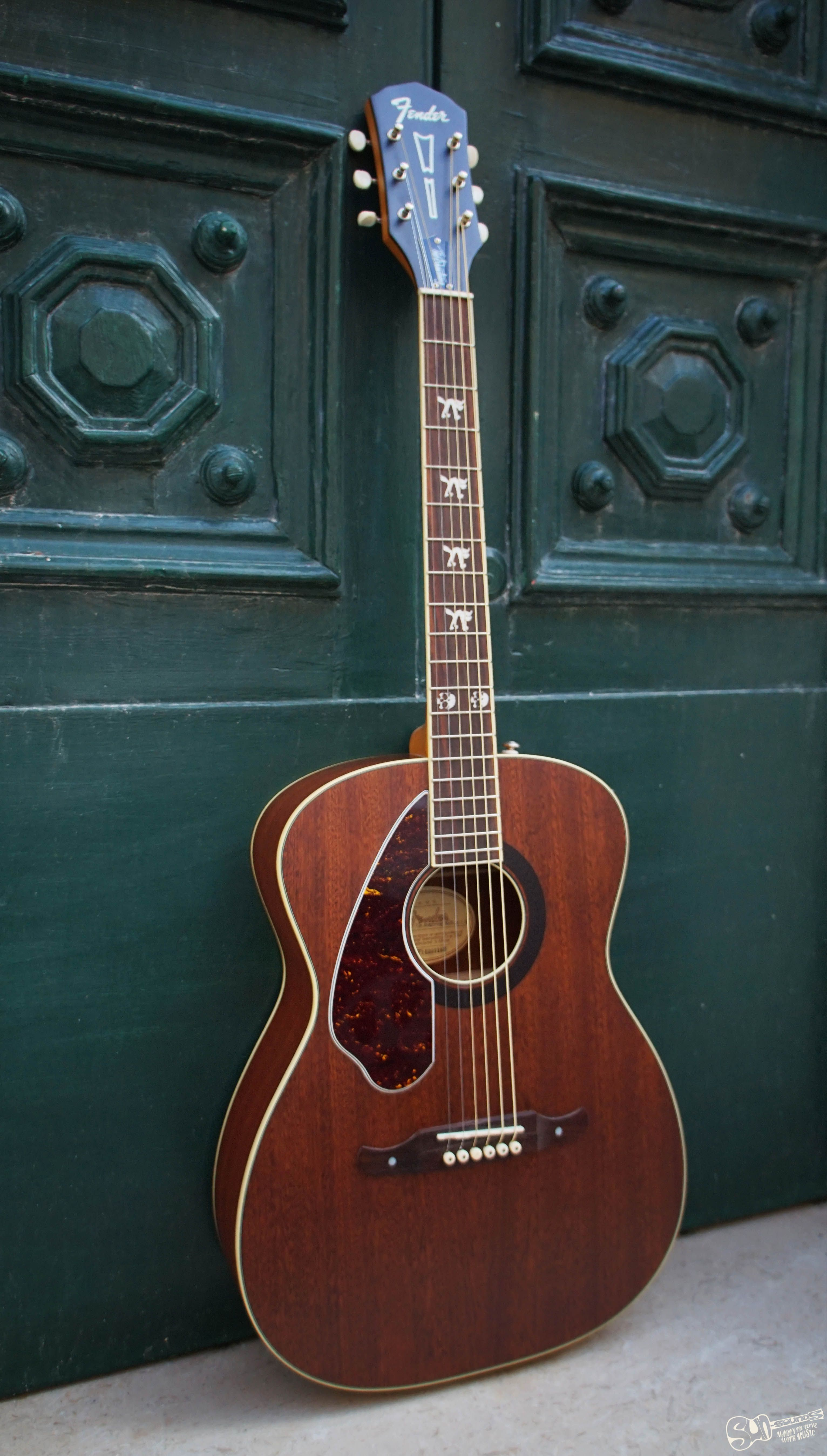 Fender Tim Armstrong Hellcat Acoustic Left Handed Guitar Tuners Acoustic Guitar Guitar