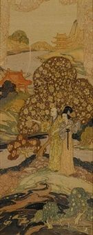 Chinese lovers by William Mitcheson Timlin