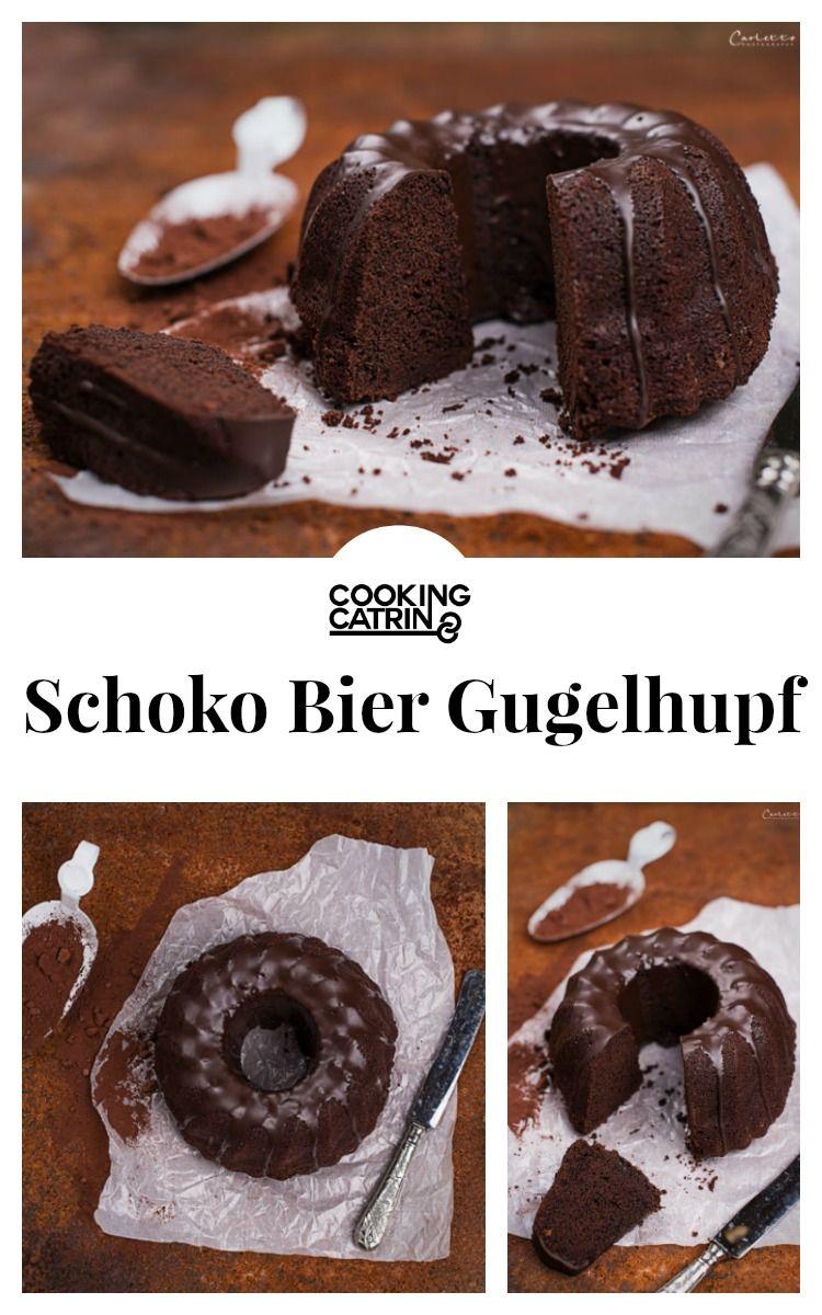 Schoko Bier Kuchen mit Schokoladenglasur | Schokokuchen, Bier und ...