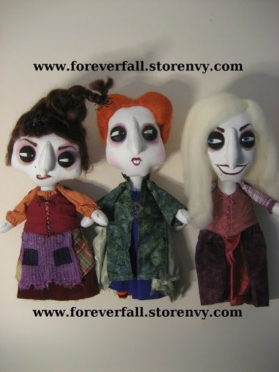 Sanderson Sisters by Forever Fall on Storenvy.