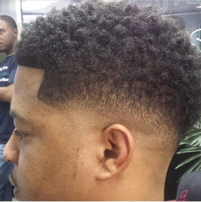 nice tapered fade wwwbarbershopconnectcom black men