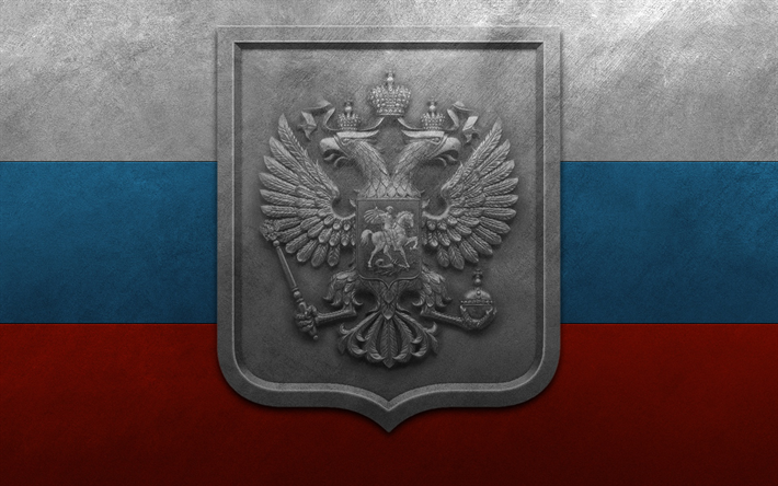 Download Wallpapers Metallic Coat Of Arms Of The Russian Federation Flag Of Russia Coat Of Arms National Symbol Metal Texture Russian Flag Besthqwallpapers Russian Flag Russia Flag Coat Of Arms