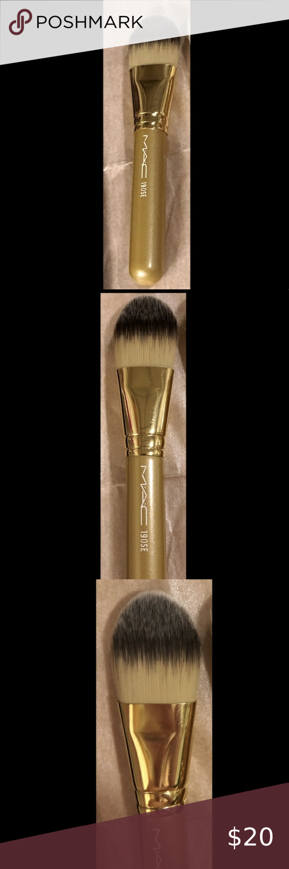 MAC 190SE Natural Foundation brush travel size in 2020