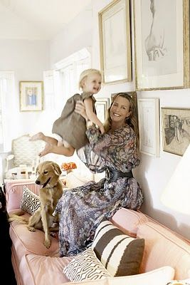 India Hicks' pale pink