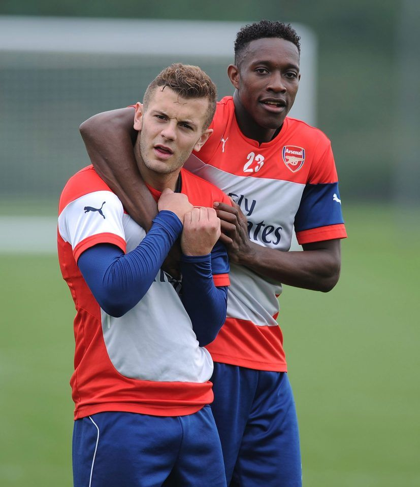 Danny Welbeck and Jack Wilshere were Arsenal and England team-mates but are now staring into the abyss before age of 30 #football #soccer #sports #futbol #fifa #sport #premierleague #championsleague #futebol #messi #seriea #goal #ronaldo #nike #realmadrid #cr #ball #fussball #team #news