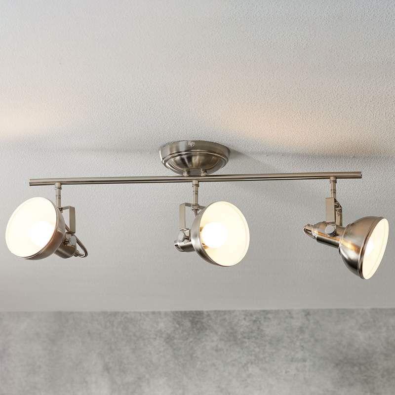 Plafondlamp Gina In Industriele Look 3 Lichtbr Plafondlamp Plafondverlichting Lampen Ophangen