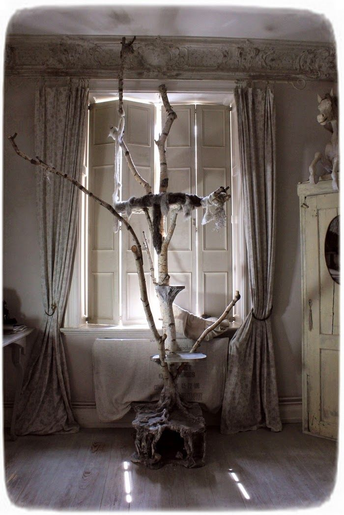 most beautiful cat tree stand ever!