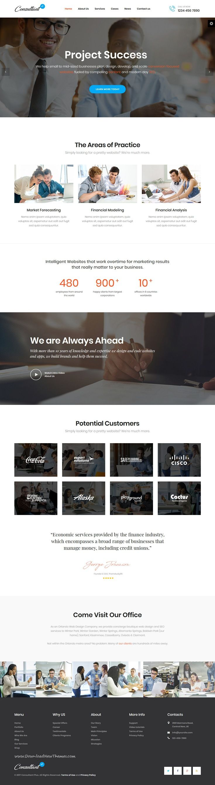 Consolution - Financial Consulting HTML Templates | Template
