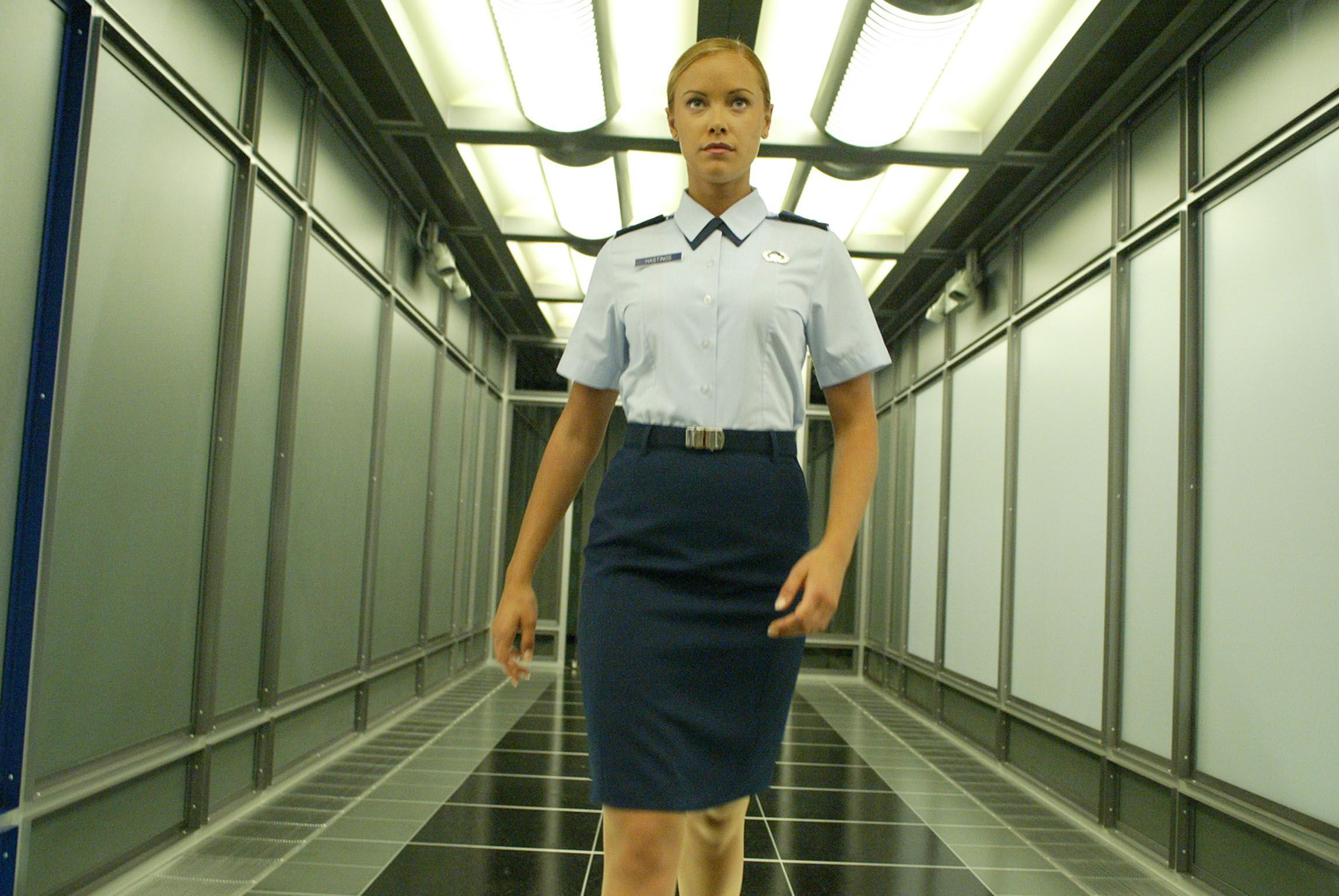 Kristanna Loken images, portraying the T-X in Terminator 3