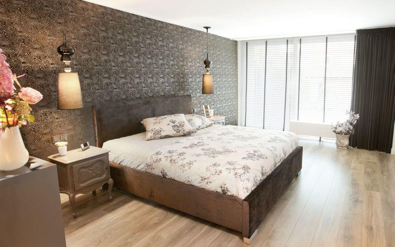 Slaapkamer luxe behang slaapkamer inspirerende foto 39 s en idee n van het interieur en - Slaapkamer met behang ...