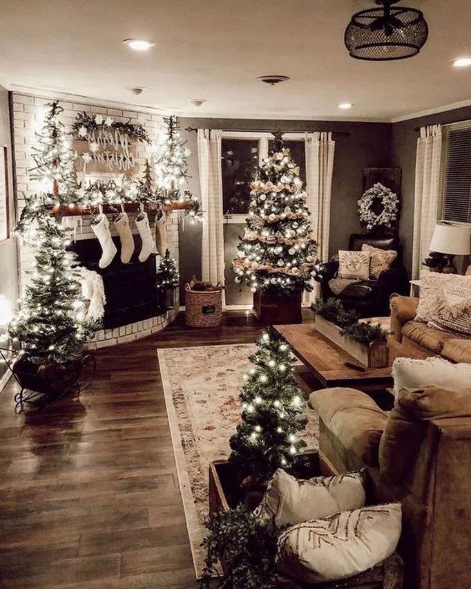 17 best farmhouse living room makeover decor ideas