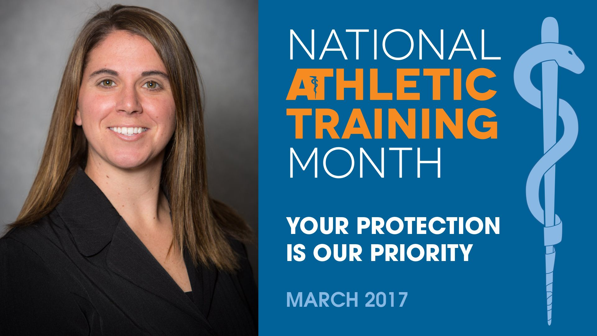 Athletic Training Month Spotlight: Courtney Halvensleben