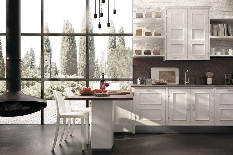 Moderne Küche im Landhaus-Look \u2013 Montserrat in matt weiß Modern - küche landhaus weiß