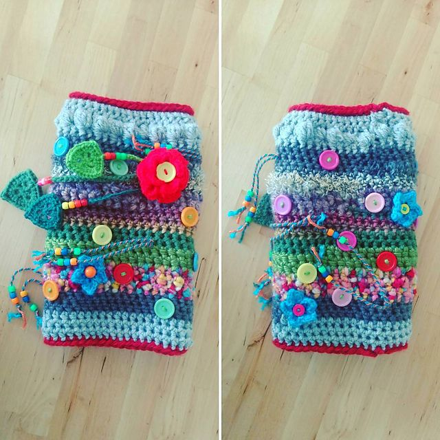 Ravelry Project Gallery For Twiddle Muff Pattern By