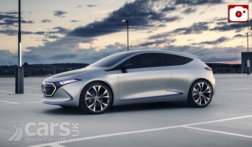 Mercedes-Benz Concept EQA Photo Gallery | Concept cars ...
