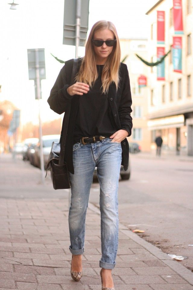 Simple, chic, everyday outfit