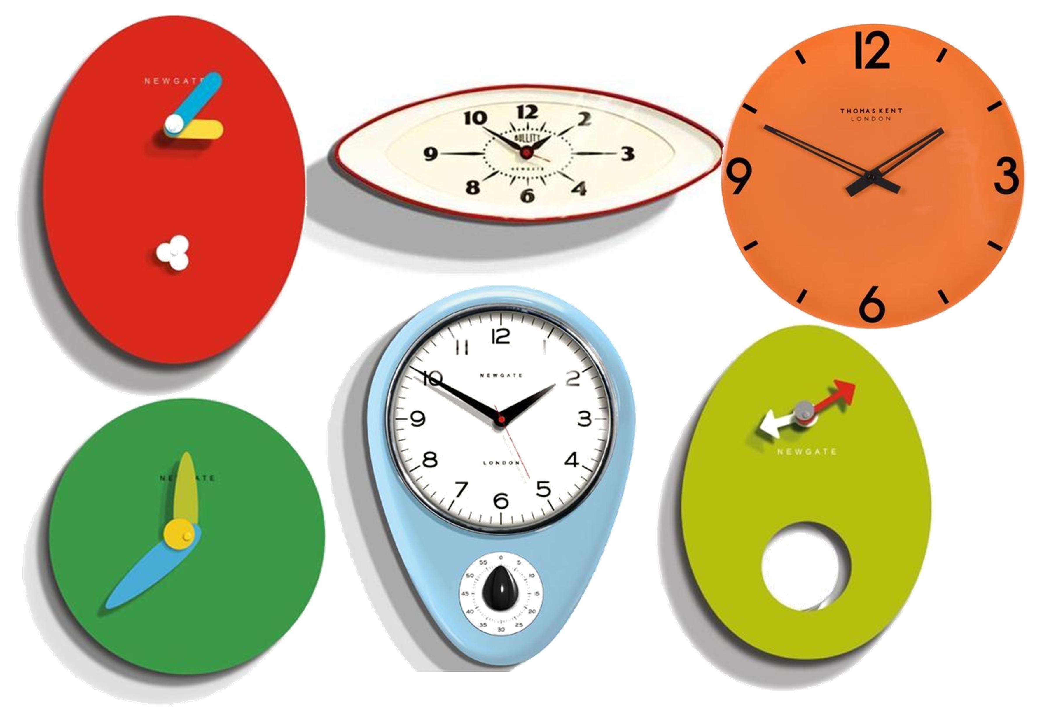 Interior design inspiration – Mid-century modern clocks ... | Clocks ...