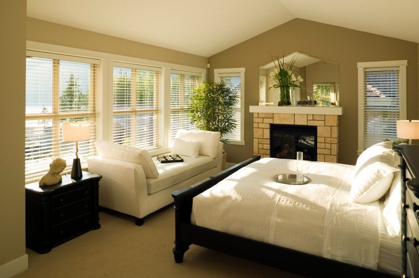 Feng Shui Bedroom  Sleep Fireplaces and Window