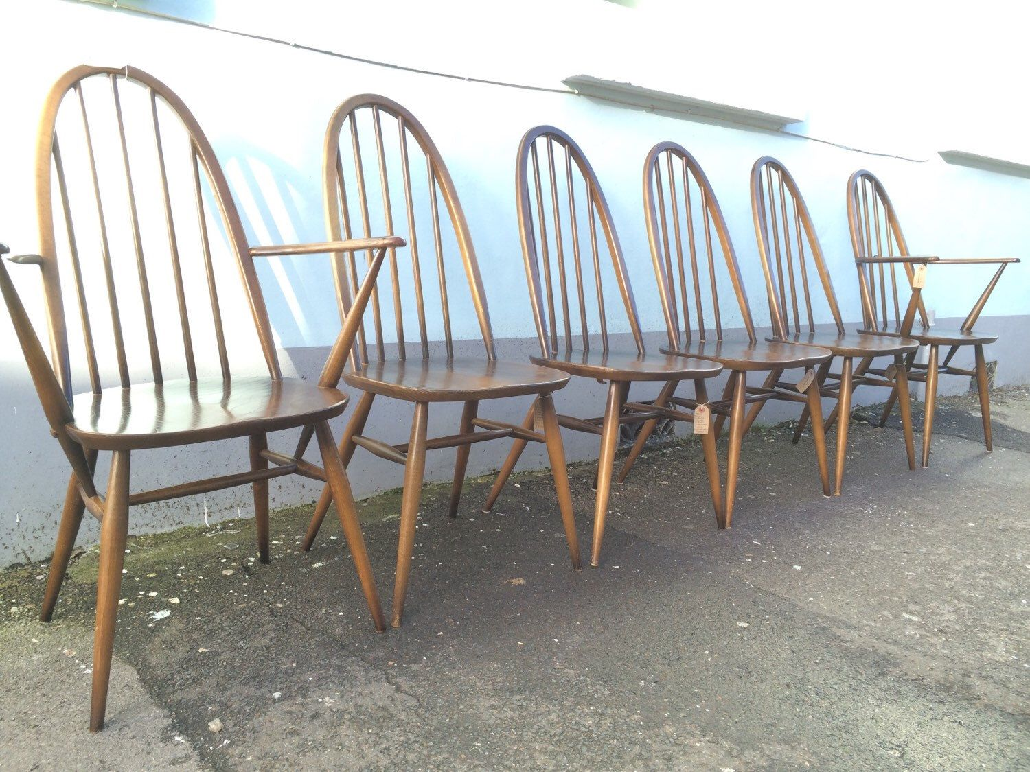 A personal favourite from my Etsy shop https://www.etsy.com/uk/listing/263544637/set-of-six-ercol-windsor-quaker-dining