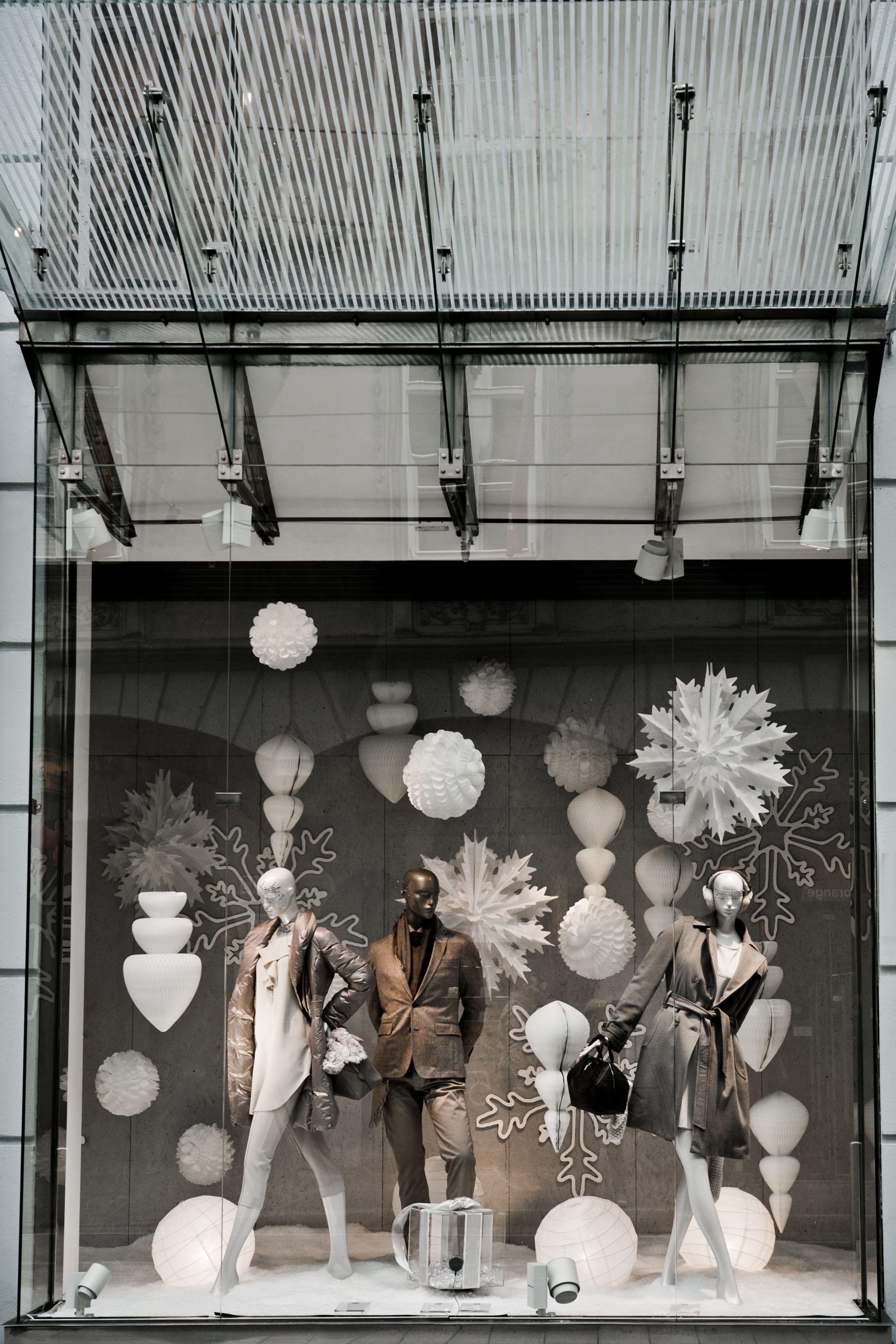 Malerisch Schaufensterdekoration Beispiele Foto Von Christmas Window Display Kastner&Öhler. Weihnachtsschaufensterweihnachtsfensterschaufensterweiße