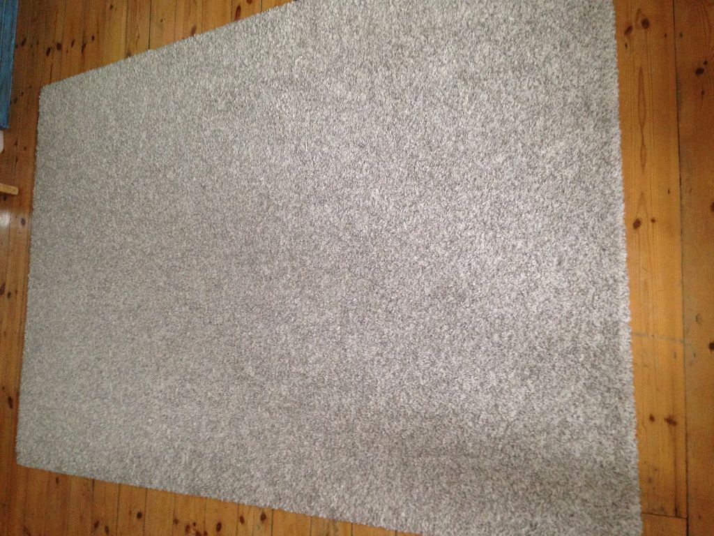 Ikea Teppich Off White Ikea Alhede Rug Light Grey Off White On Gumtree Ikea