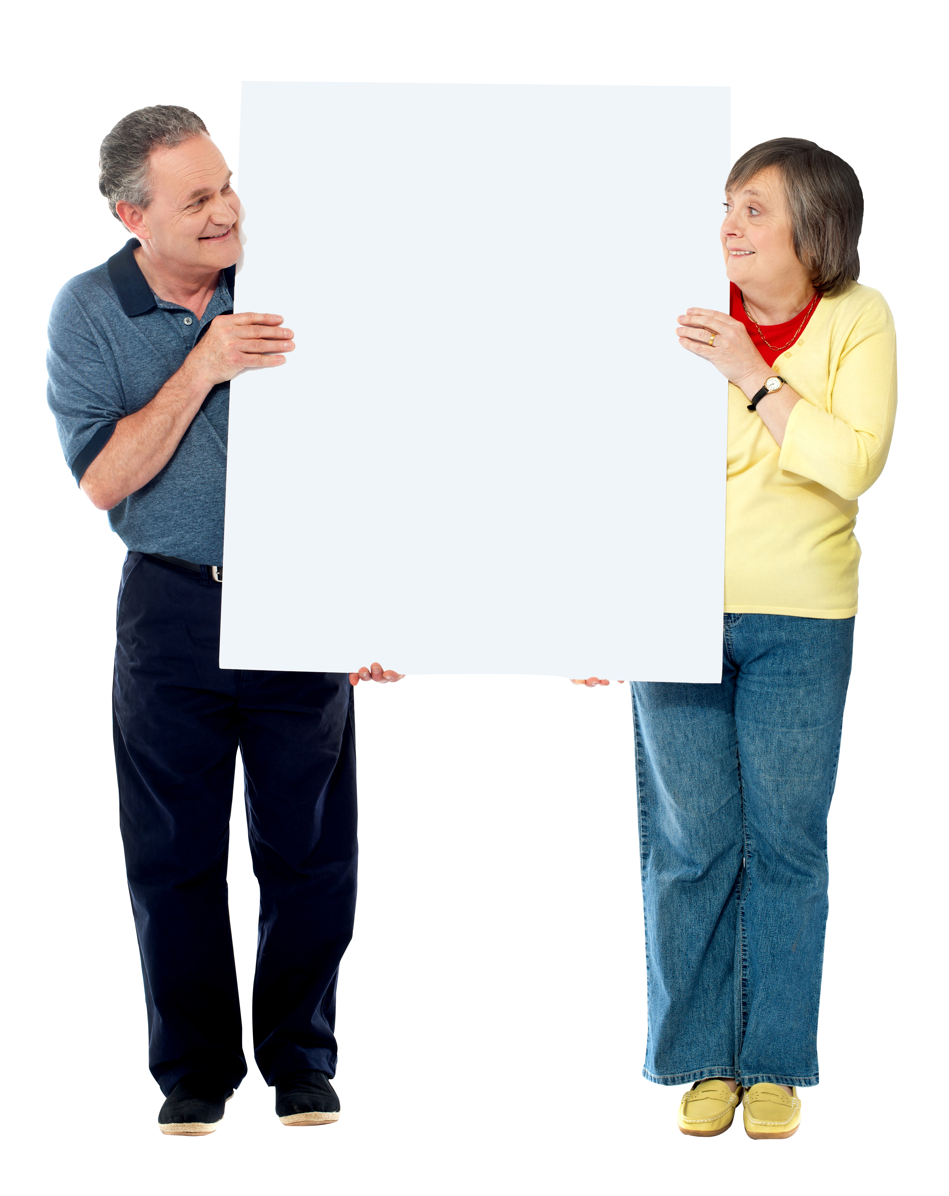 People Holding Banner Png Image People Banner Person