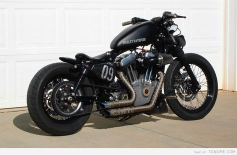 Harley Cafe Racer Colin Is Going To Build Me This After Hes Done With School