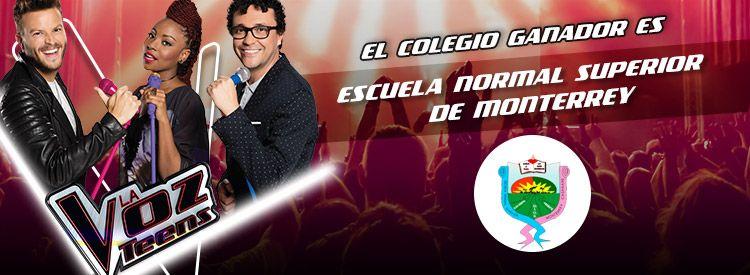 Votaciones concierto La Voz Teens en tu colegio | Caracol TV