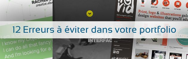 12 Erreurs à éviter dans votre portfolio (French)