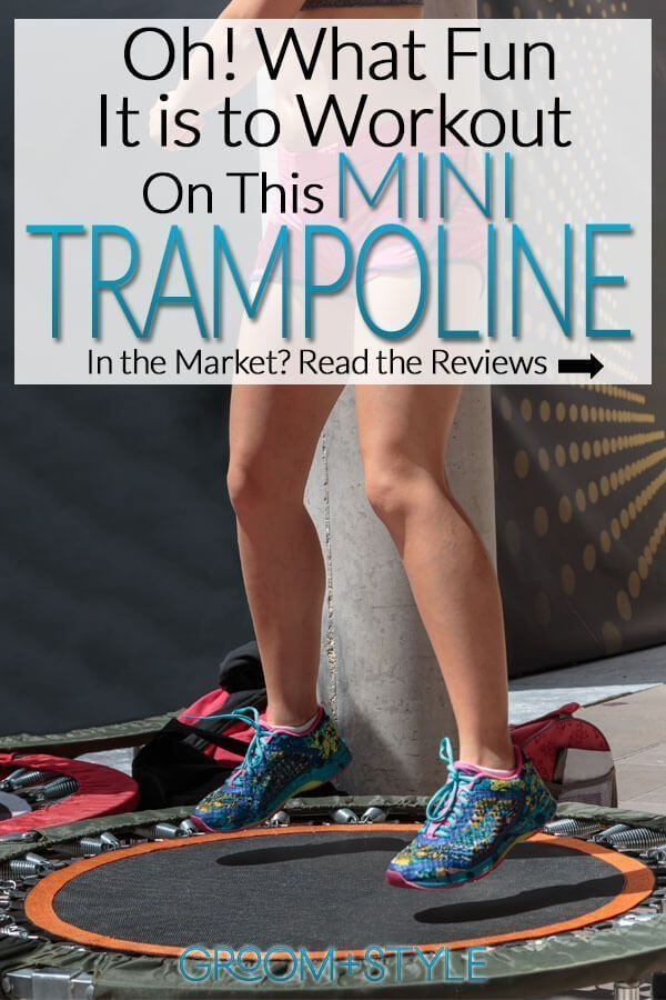 Everyone from fitness experts to NASA recommends mini trampolines for adult low-impact aerobic exerc...