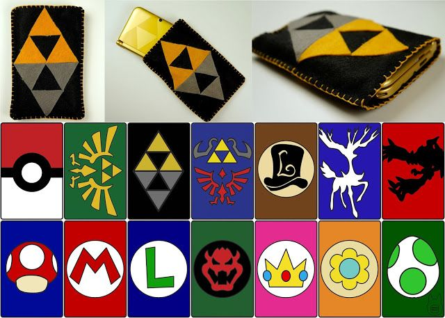 Otaku Crafts: Make Your Own Nintendo 3DS/ 3DS XL Pouches. The Zelda a Link Between Worlds pattern looks amazing. This seems like a fun project