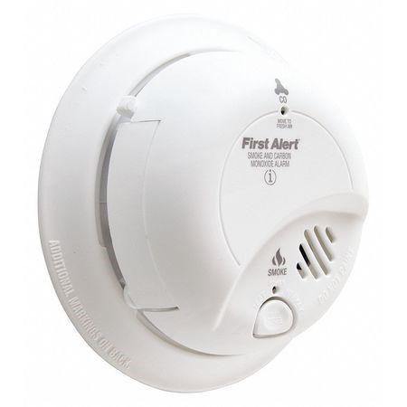 First Alert Sc02b Smoke Carbon Monoxide Alarm White Multi Carbon Monoxide Alarms Smoke Alarms Smoke