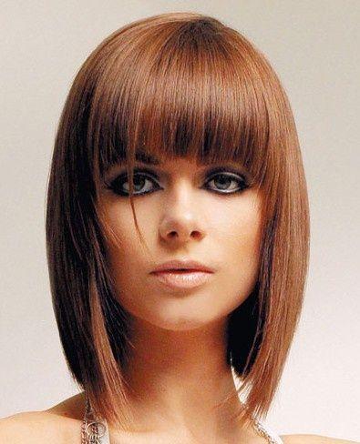 Surprising 1000 Images About Bangs Hairstyles On Pinterest Bangs Long Short Hairstyles For Black Women Fulllsitofus