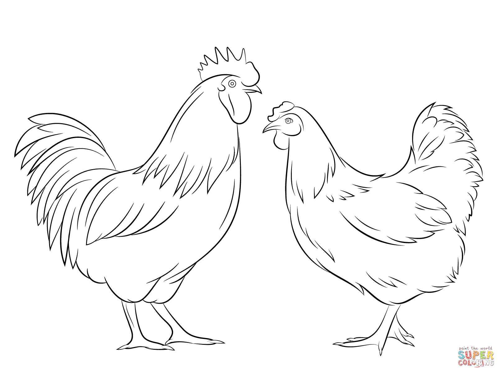 hen drawings outline Google Search rooster hen Pinterest