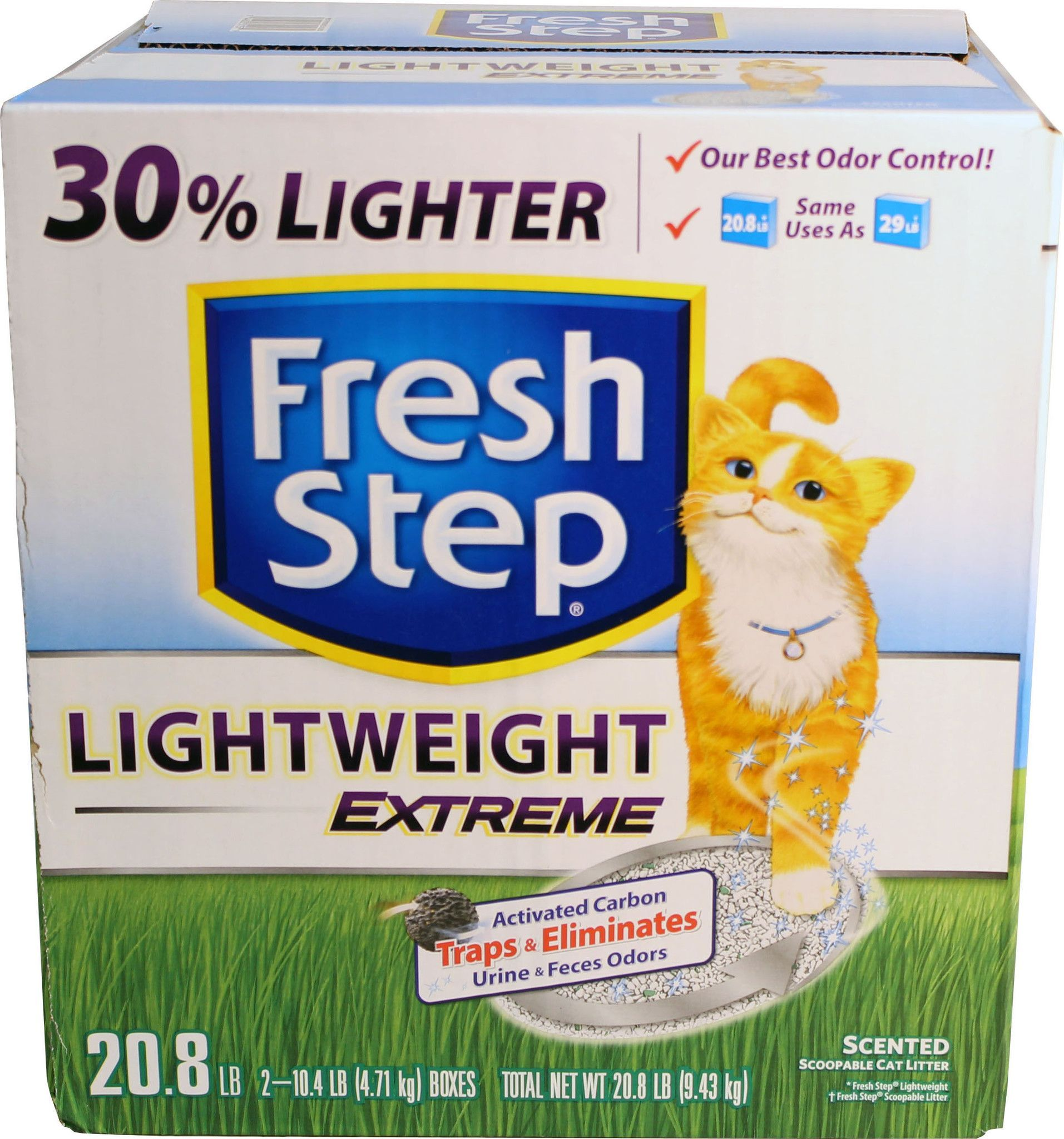 photograph relating to Fresh Step Printable Coupon called Contemporary Stage Light-weight Intense CAT Clutter Goods