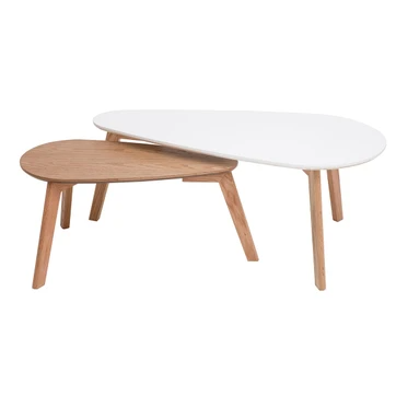 Tables Basses Scandinaves Lot De 2 Artik Miliboo Table Basse En 2020 Table Basse Scandinave Table Basse Table Basse Gigogne