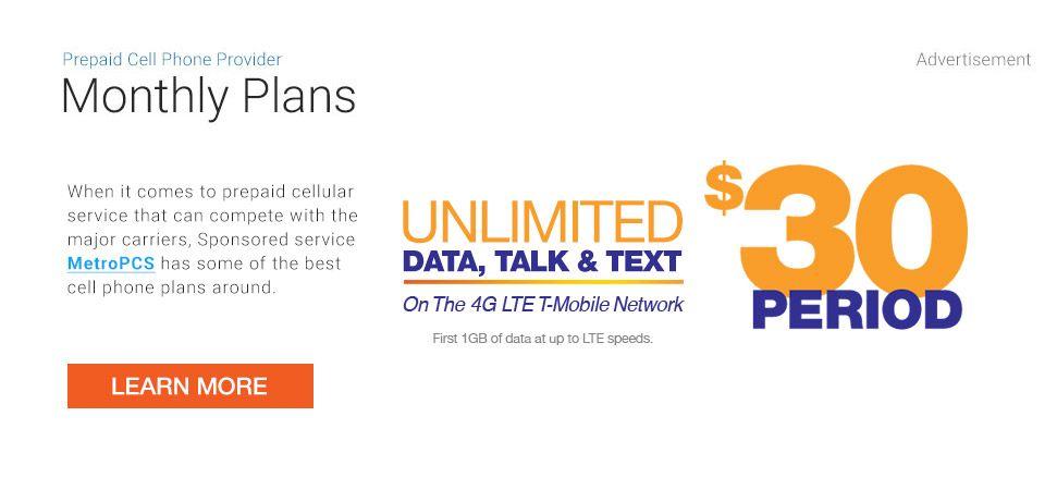 Best Prepaid Cell Phone Plans 2020 Phone Plans Prepaid Cell Phone Plans Prepaid Cell Phones