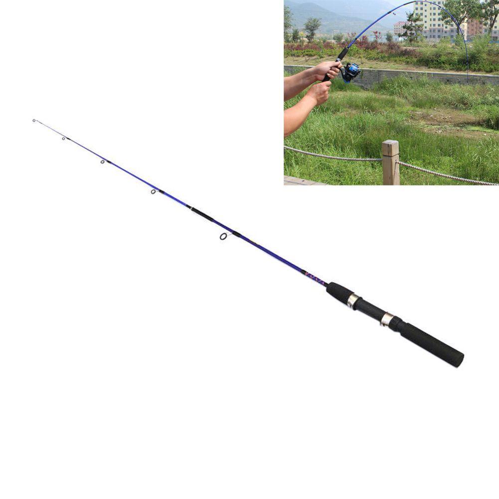 1.2M Telescopic Fishing Rod Spinning Rod Fiber Reinforce Plastic 5 Section Rod