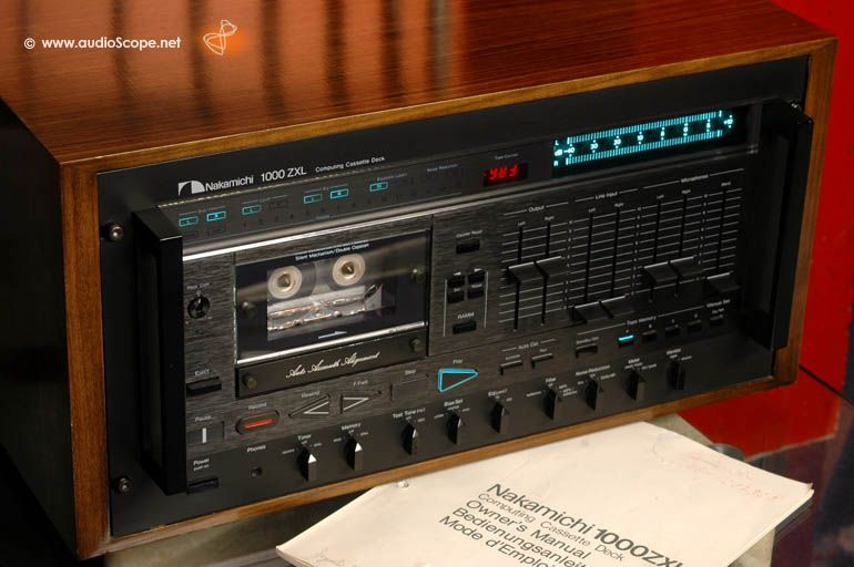 nakamichi 1000zxl computing cassette deck owner manual