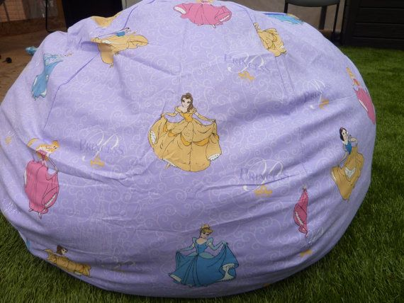 Princess Bean Bag Cover By Copperbugcompany On Etsy 50 00